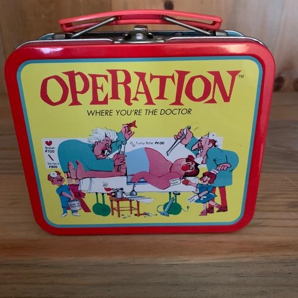 Operation miniature lunch box